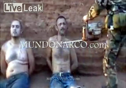 youtube shows mexican mans beheading