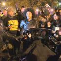 Garner/Brown Protest Leaders Confront DC Cop