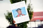 HUDS protest sign