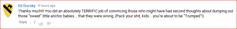 DeportRacism YouTube comment08