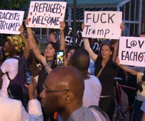 Richmond antiTrump rally
