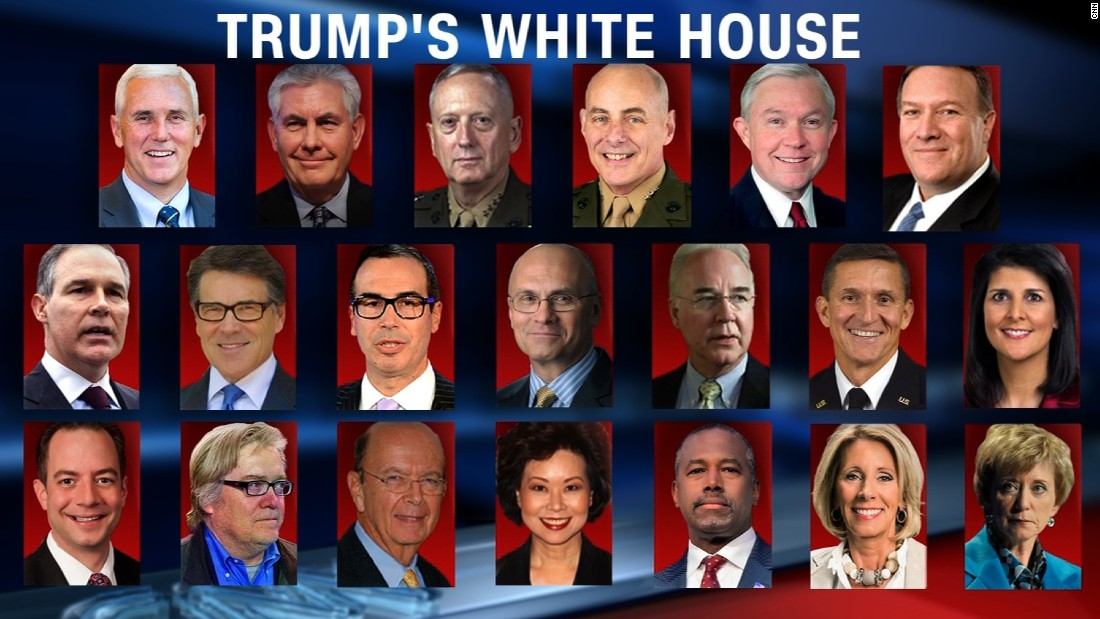 Best Of Donald Trump Cabinet Members
