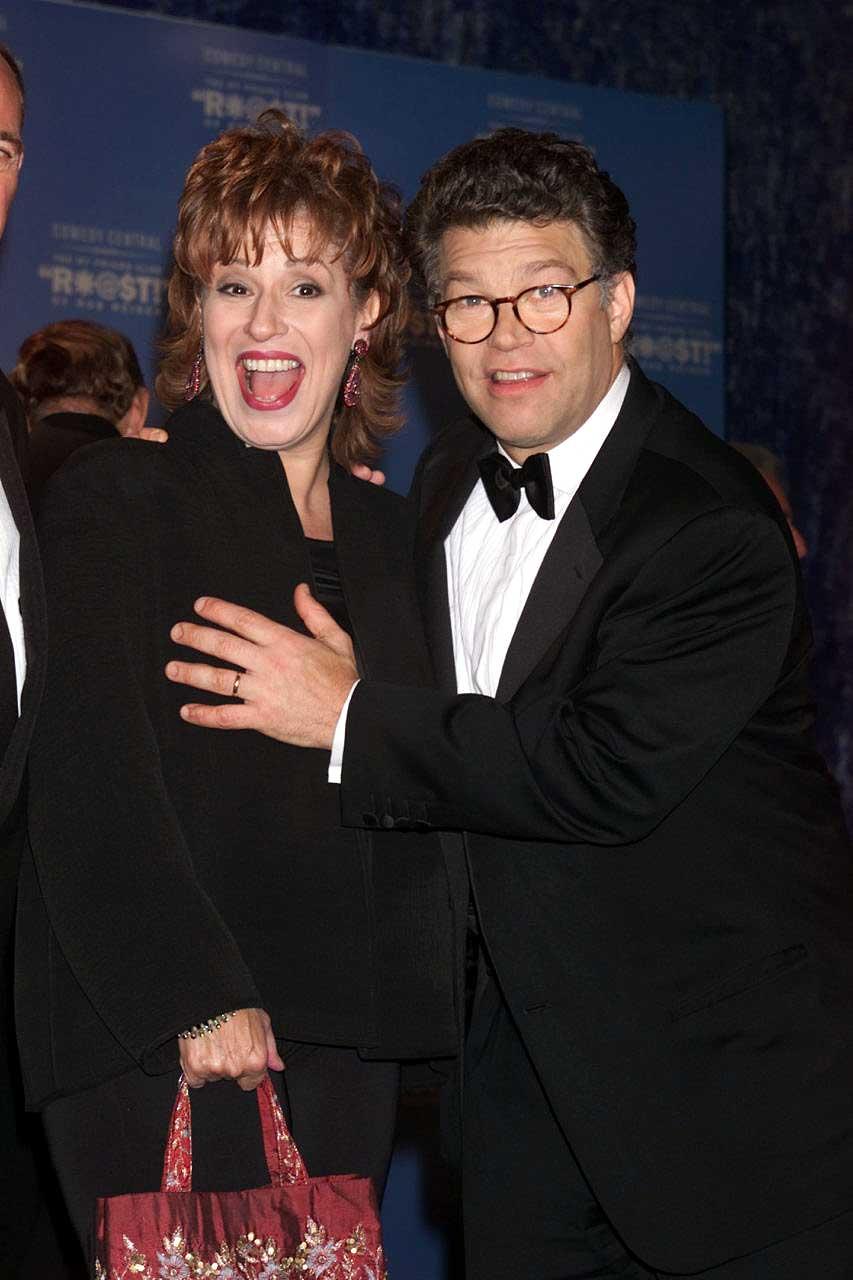 Lindsay Menz Al Franken Photo >> The View's Joy Behar: Lying, Groping, Hypocrite – Black & Blonde Media